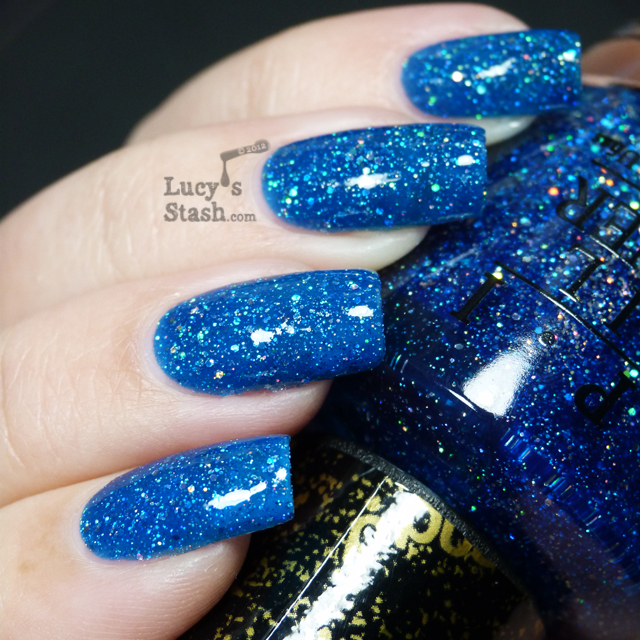 Lucy's Stash - OPI Liquid Sand Get Your Number with topcoat