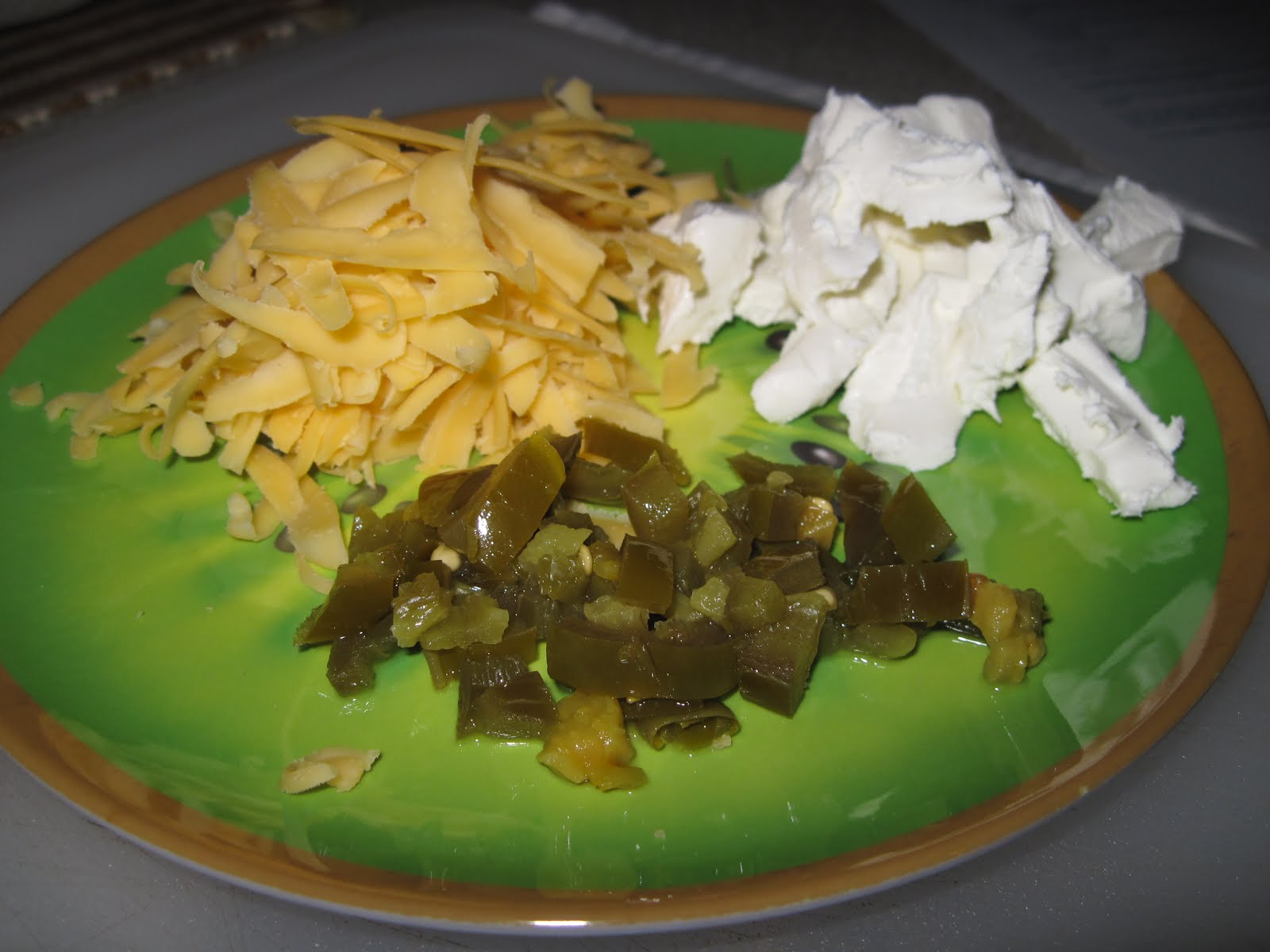 smoked cheese cream cheese chopped pickled jalepinos