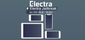 Electra جيلبريك jailbreak للنظامiOS 11.3.1 – iOS 11.2