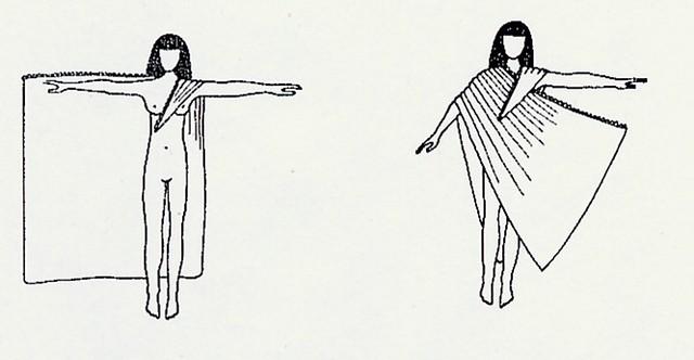 Imagenes de Egipto: Tejidos y ropas en el antiguo Egipto IV