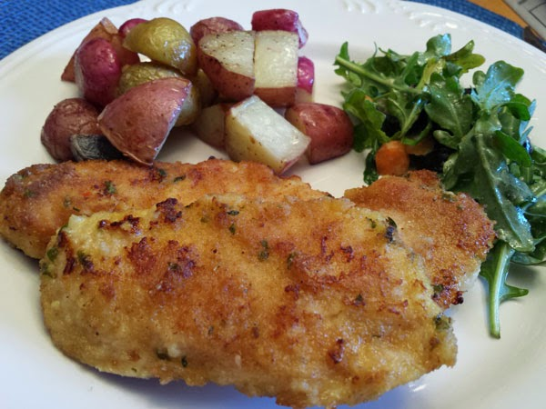 Roasted Chicken Cutlets Recipe — Dishmaps