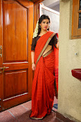 Archana veda in red saree photos-thumbnail-14