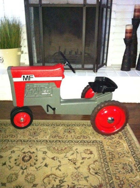 Ferguson Pedal Tractor : Joe s five and dime massey ferguson model pedal tractor