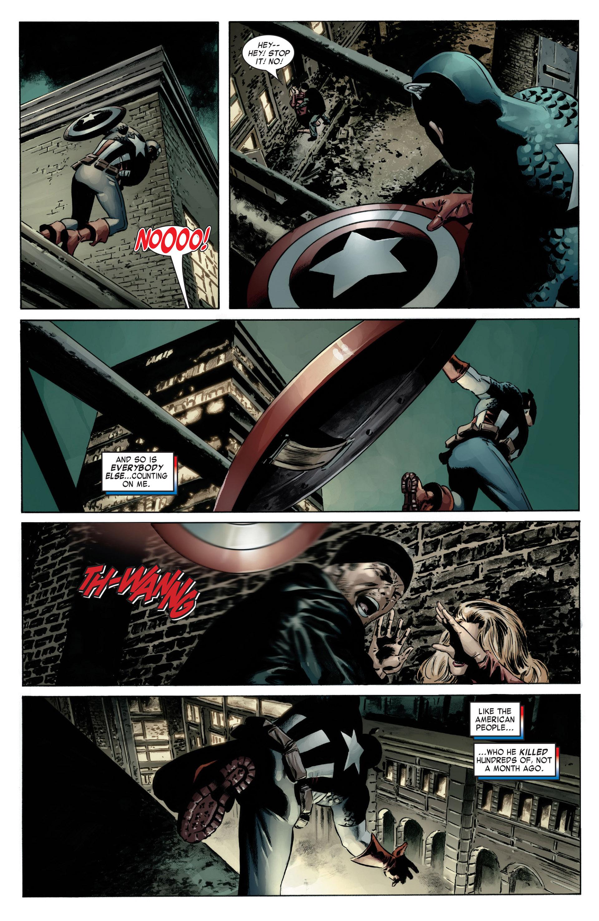 Captain America (2005) Issue #12 #12 - English 18