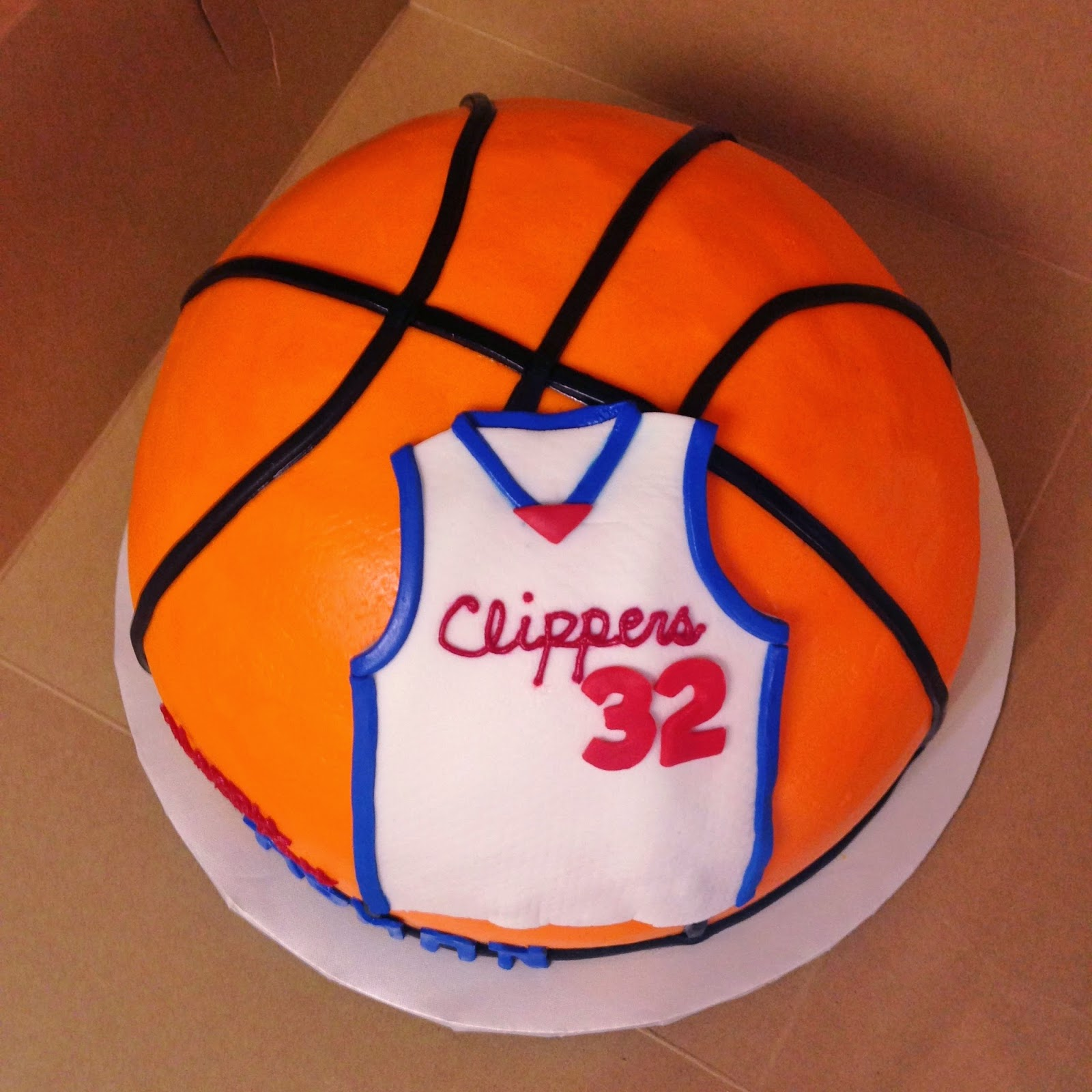 Cakes By Mindy LA Clippers Basketball Cake 10