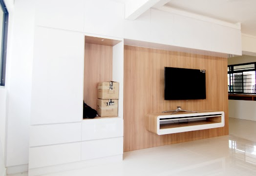 Butterpaperstudio Reno Toa Payoh Tv Wall Console And