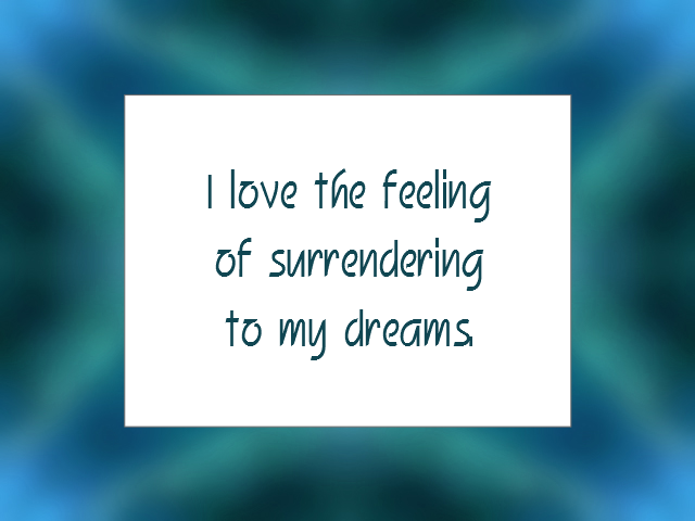 SLEEP affirmation