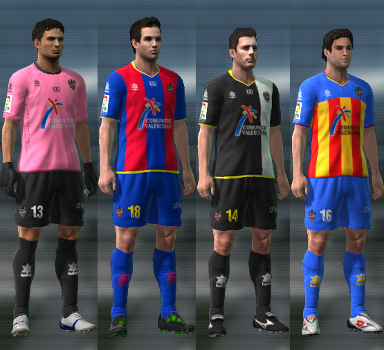 Levante 11/12 Kit Set by josemigol