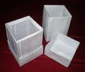 Cara Membuat Box Atk / Alat Tulis Kantor dari Kertas