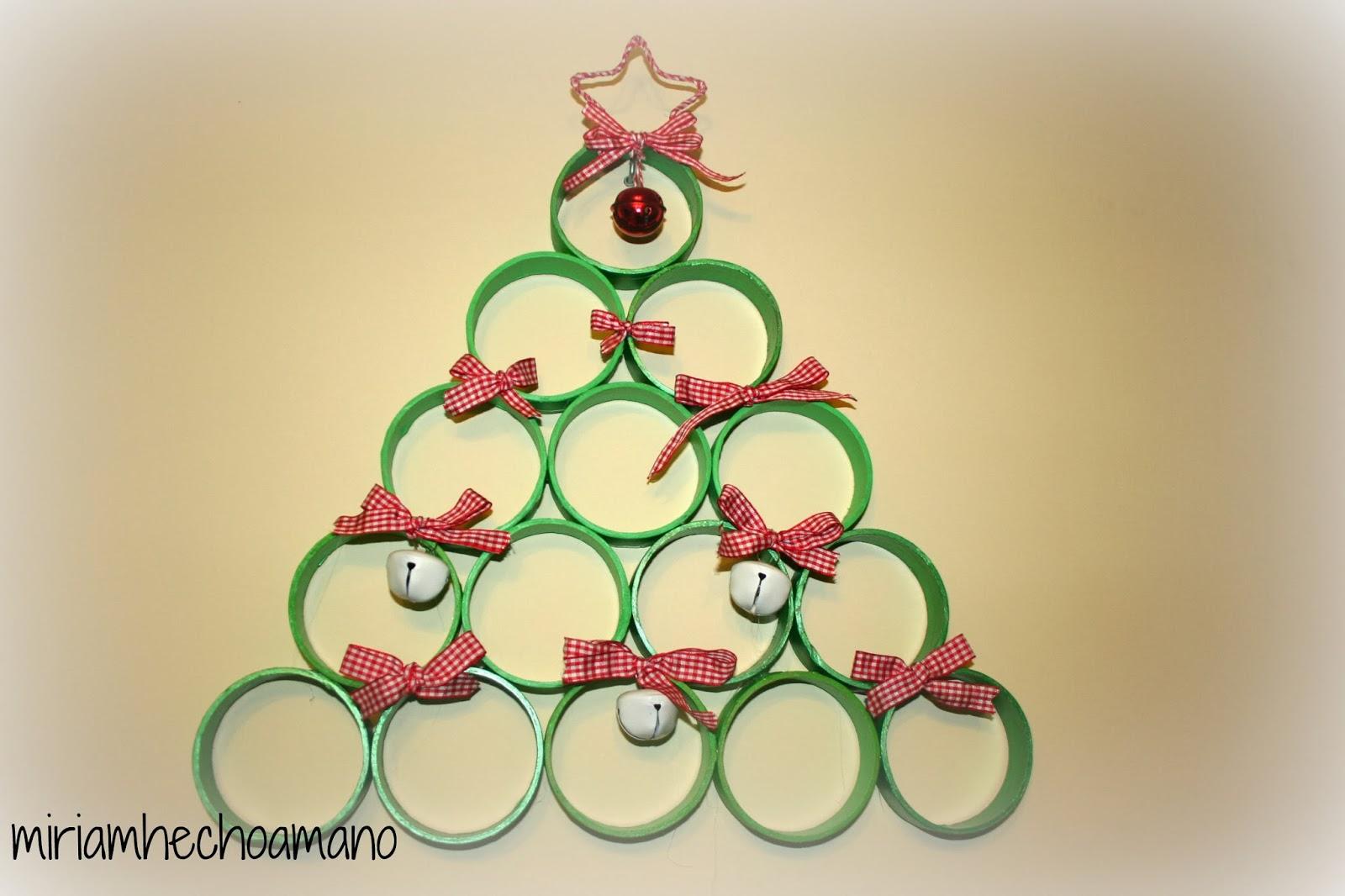 Miriam hecho a mano viernes diogenero adorno navide o - Centros de mesa navidenos hechos a mano ...