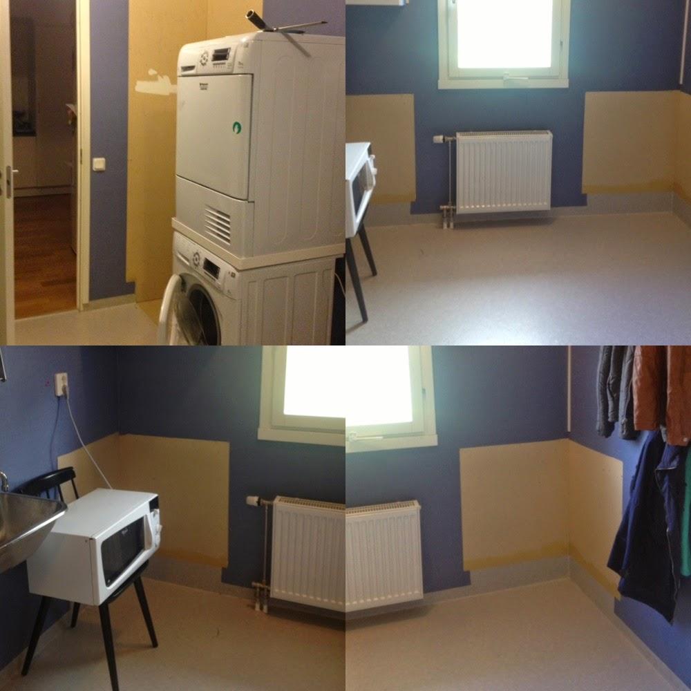 Villa ell: den färdiga tvättstugan...