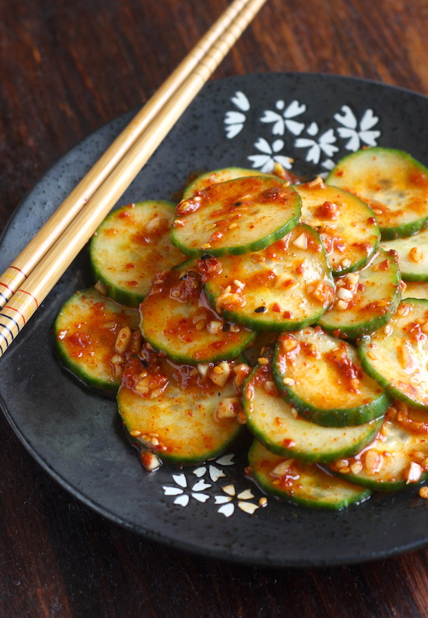 Spicy Korean Cucumber Salad (Oi-Muchim) | Season with Spice