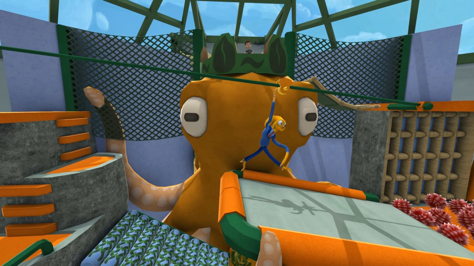 Octodad: Dadliest Catch gameplay