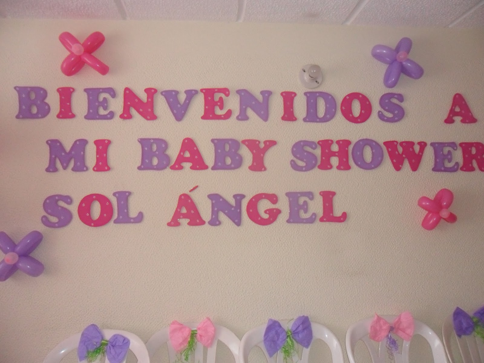 Decoraciones con globos para baby shower y fiestas for Decoracion para nina