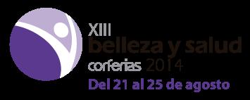 logo XIII Feria de BELLEZA Y SALUD 2014 Bogota