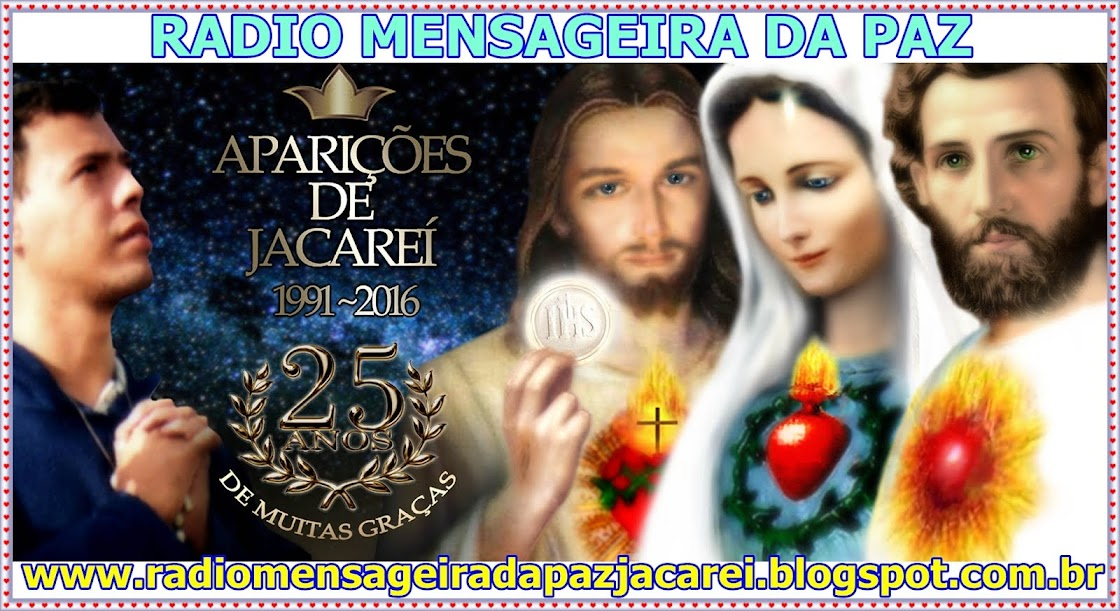 AVISOS DO CEU ... NAS APARICOES DE JACAREI - SP - BRASIL