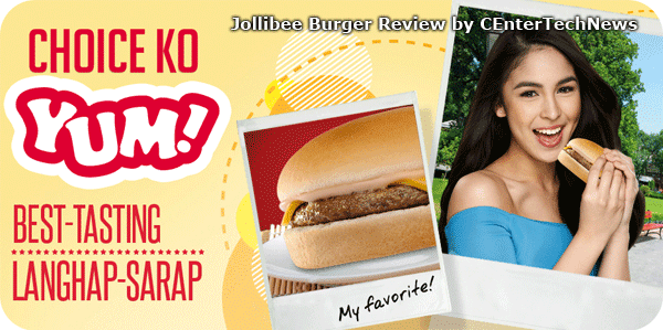Jollibee Burger Review by CEnterTechNews