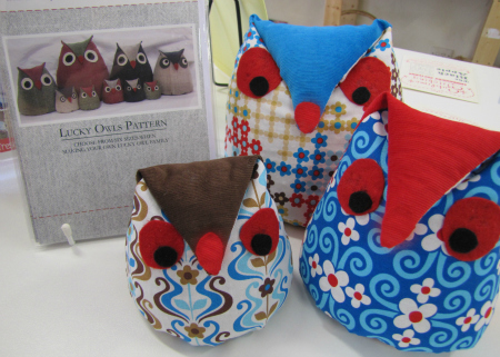 The Haby Goddess Lucky Owls Doorstop Sewing Pattern
