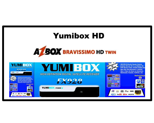 Transformar Azbox Bravíssimo en Yumibox HD