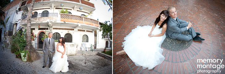 puerto Vallarta mexico wedding photo bride groom beach