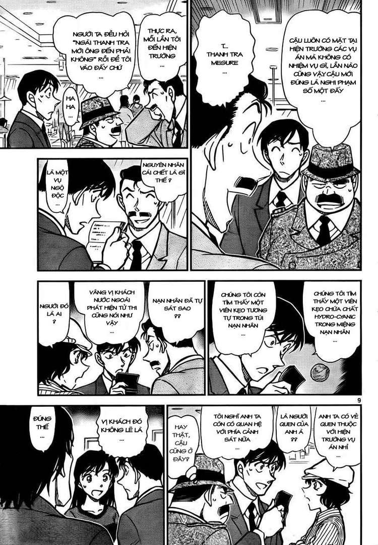 Detective Conan - Thám Tử Lừng Danh Conan chap 778 page 11 - IZTruyenTranh.com