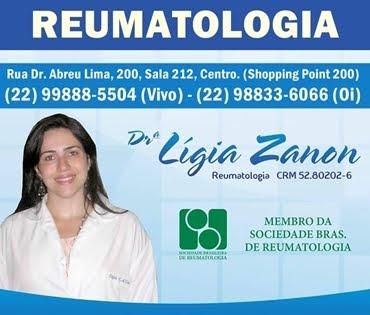 DRª LIGIA ZANON REUMATOLOGISTA