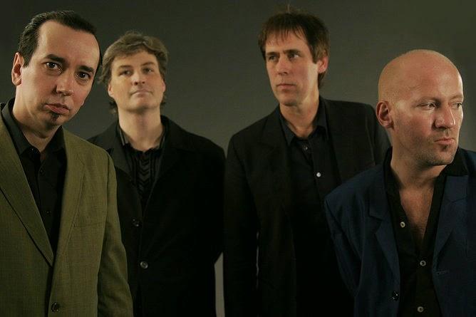Sour Jazz band photo, Left to right: Mr.Ratboy, Splat Action, Mr.Popular, Cowboy Mark.