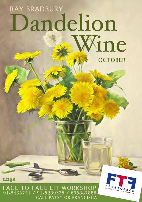 thesis on dandelion wine Mention dandelion wine to a literary enthusiast, and they'll probably speak of the 1957 novel by ray bradbury mention it to boulder county resident mary ryan, and she'll produce a bottle of 30-year-old homemade dandelion wine and three vintage, gold-filigreed shot glasses it's early.