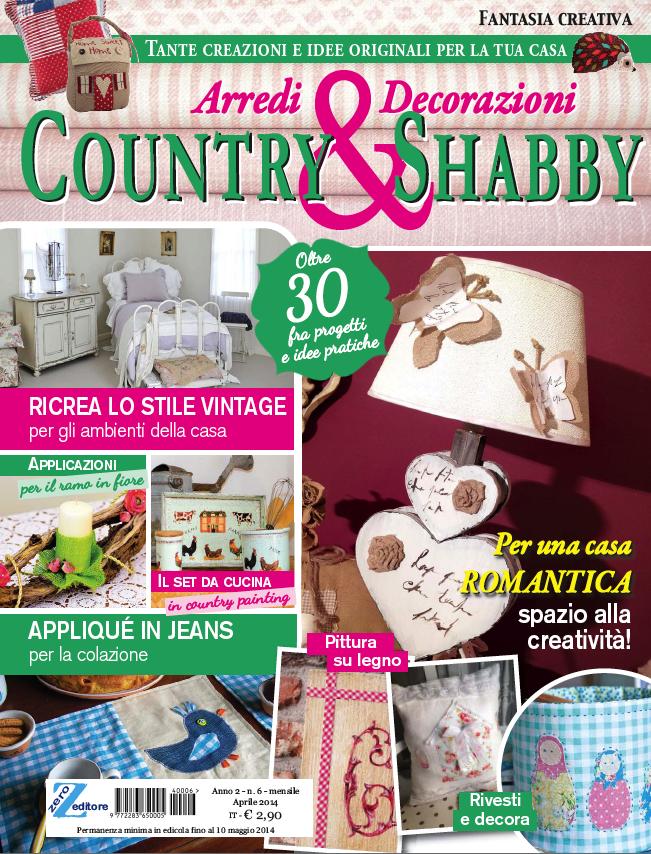 Fantasia Creativa n.6 Country & Shabby (Zero Editore)