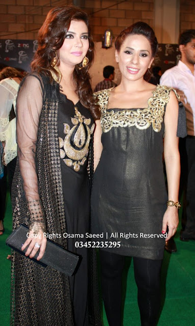 Nida Pasha at LUX Style Awards 2012