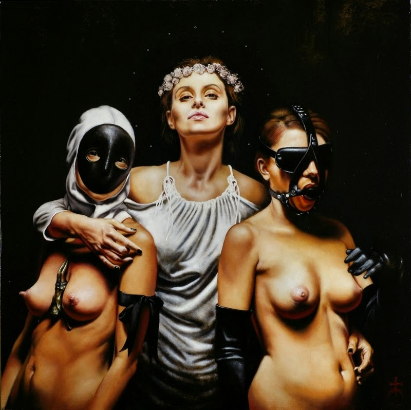 D.W.C. Lady  Darkness - Painter Saturno Buttò