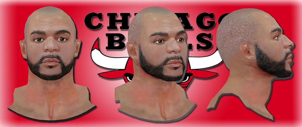 NBA 2K14 Carlos Boozer Next-Gen Face Mod