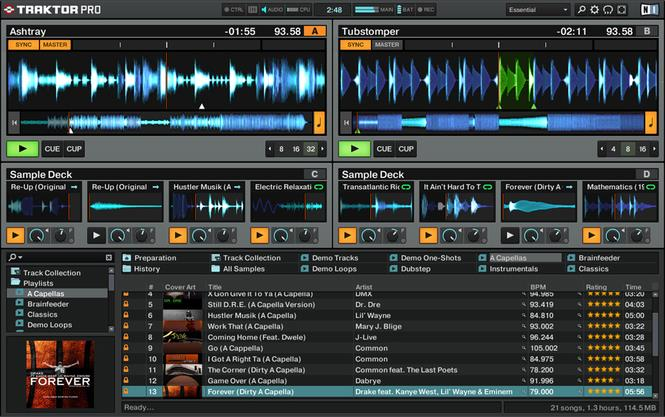 Traktor Pro 2.6.8 MAC Screenshot