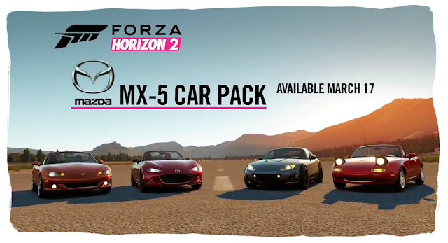 Mazda MX-5 Forza Horizon 2 DLC