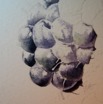 Blackberry Painting