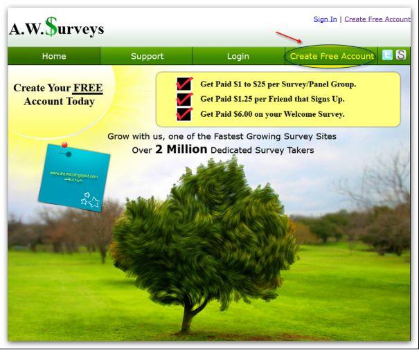 إربح موقع AWSurveys الشرح بالصور اثبات الدفع والمصداقية,بوابة 2013 Image1.jpg