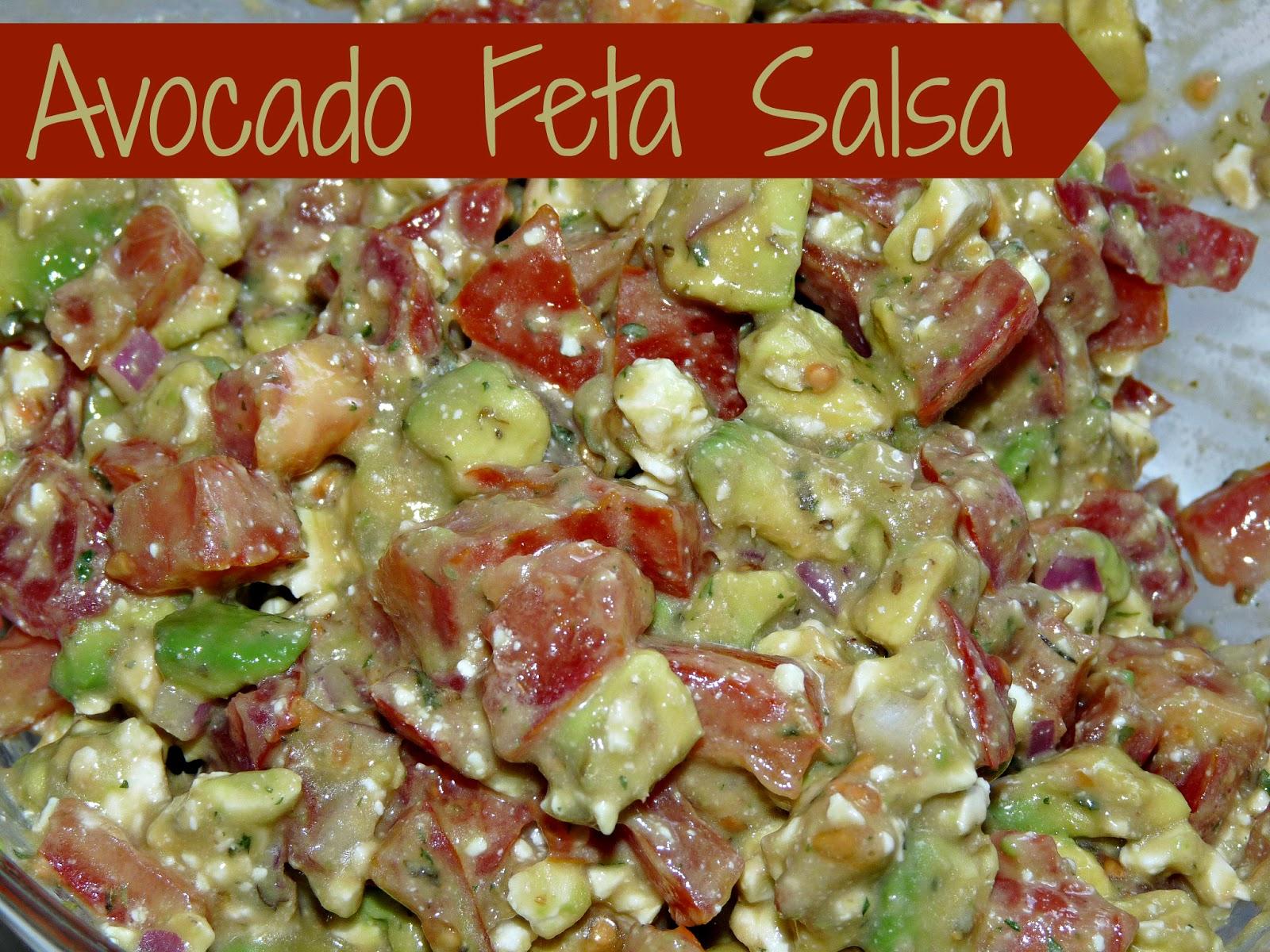 Zoe's Lunchbox: Recipe Review - Avocado Feta Salsa