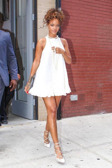7 dias sete looks de Rihanna  moda e tendnecias look do dia