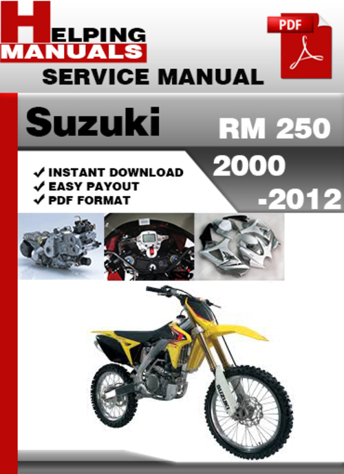 97 suzuki rmx 250 service manual today manual guide trends sample u2022 rh brookejasmine co 2006 suzuki rmz 250 service manual pdf suzuki rm 250 owners manual