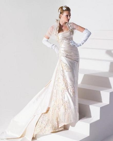 Exotic and Dramatic Wedding Dresses by Blanka Matragi ...