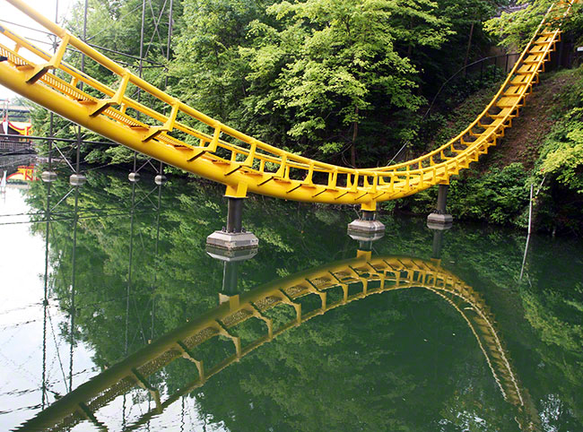 Travels And Visits Loch Ness Monster Roller Coaster