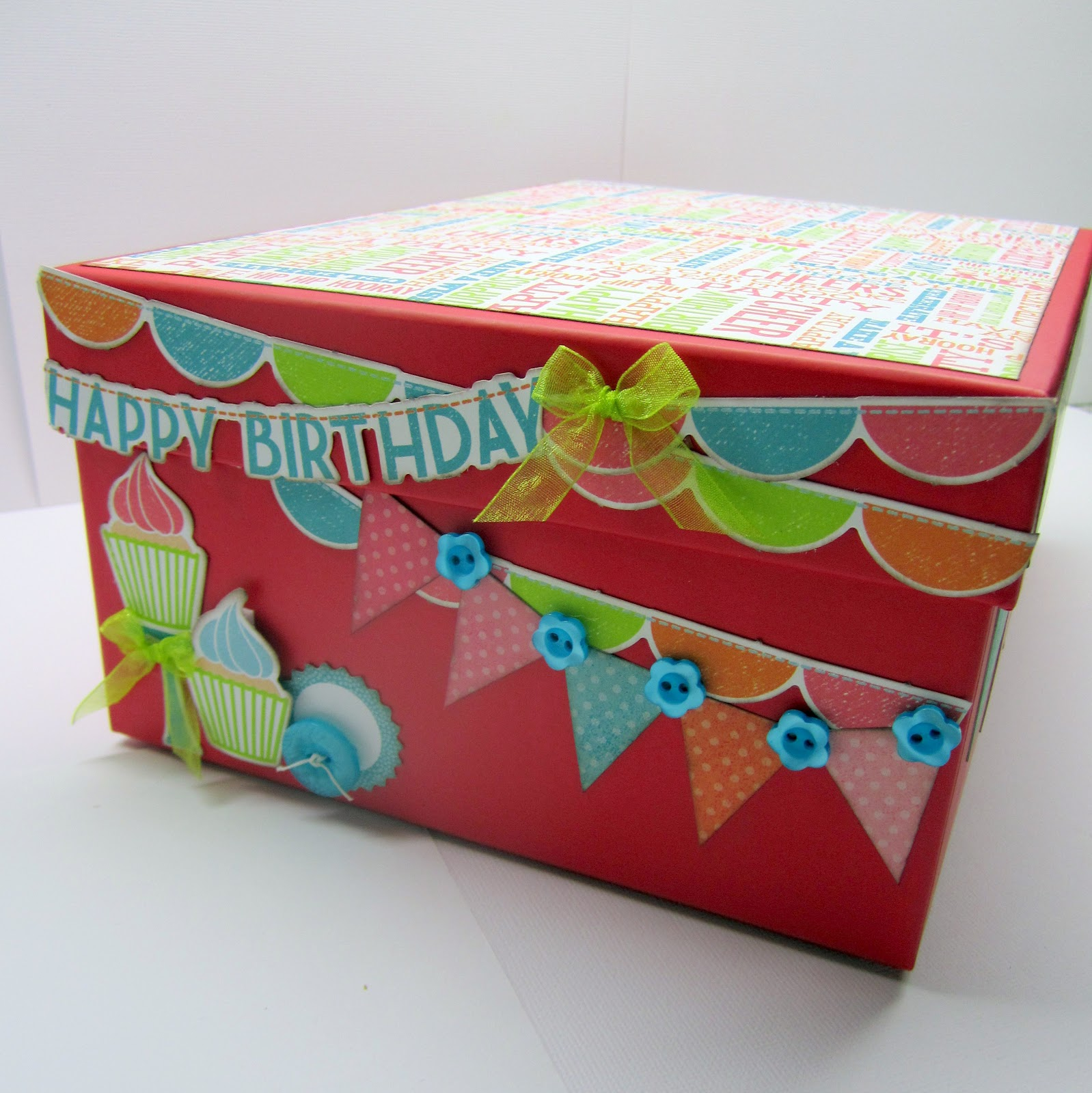 the Scrapping Actuary Birthday Card Box