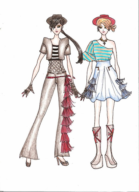 Fashion Drawing Clothes