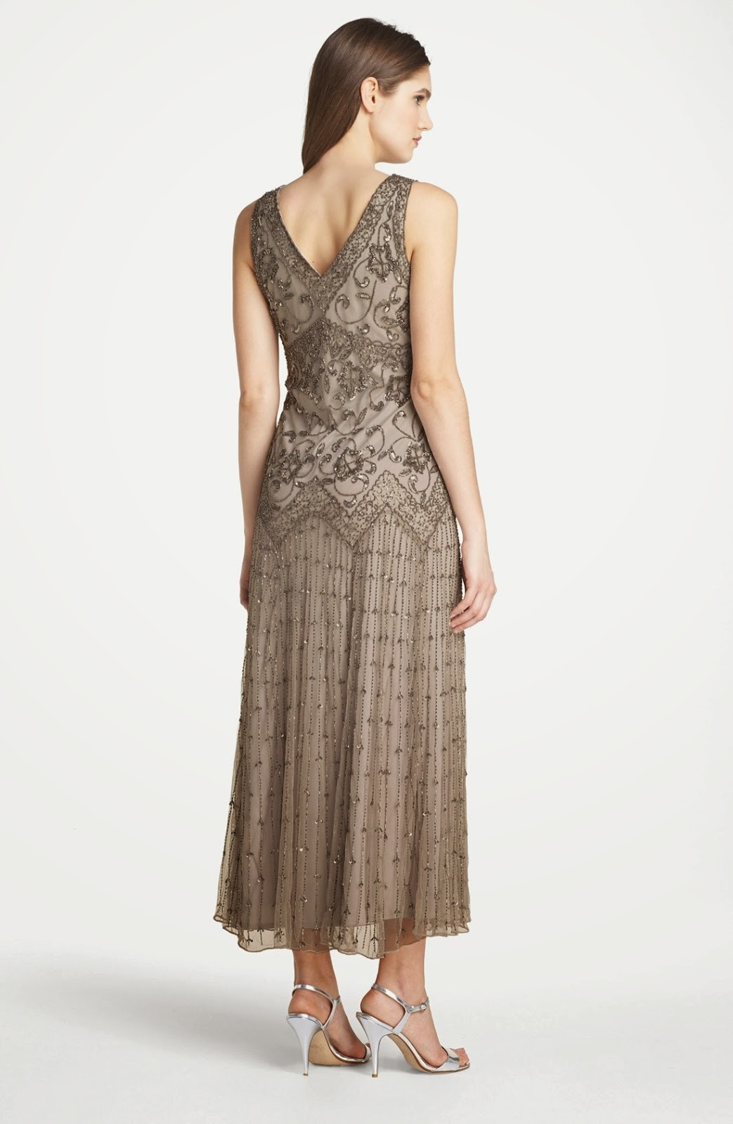 Pisarro Nights Beaded Mesh Gown from Nordstrom | Pageant Wardrobe ...