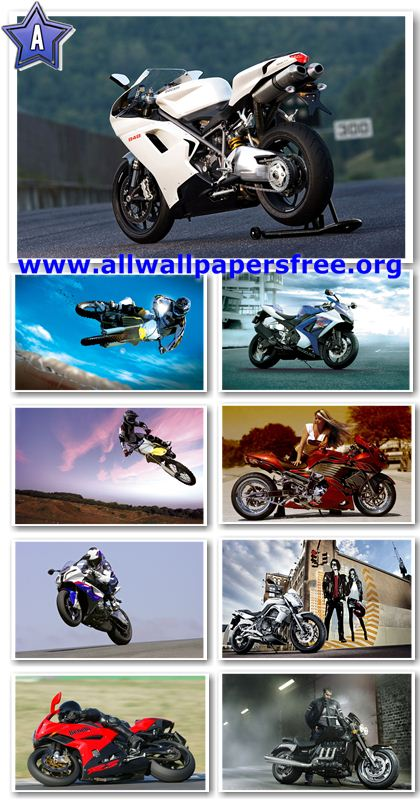 50 Motorcycles Widescreen Wallpapers 1920 X 1200