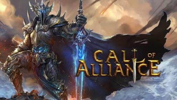 Liberte a escravizada Terra Central do mal em Call of Alliance