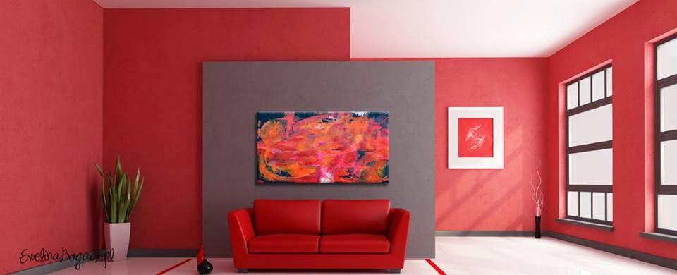 obrazy abstrakcyjne Ewelina Bogacz