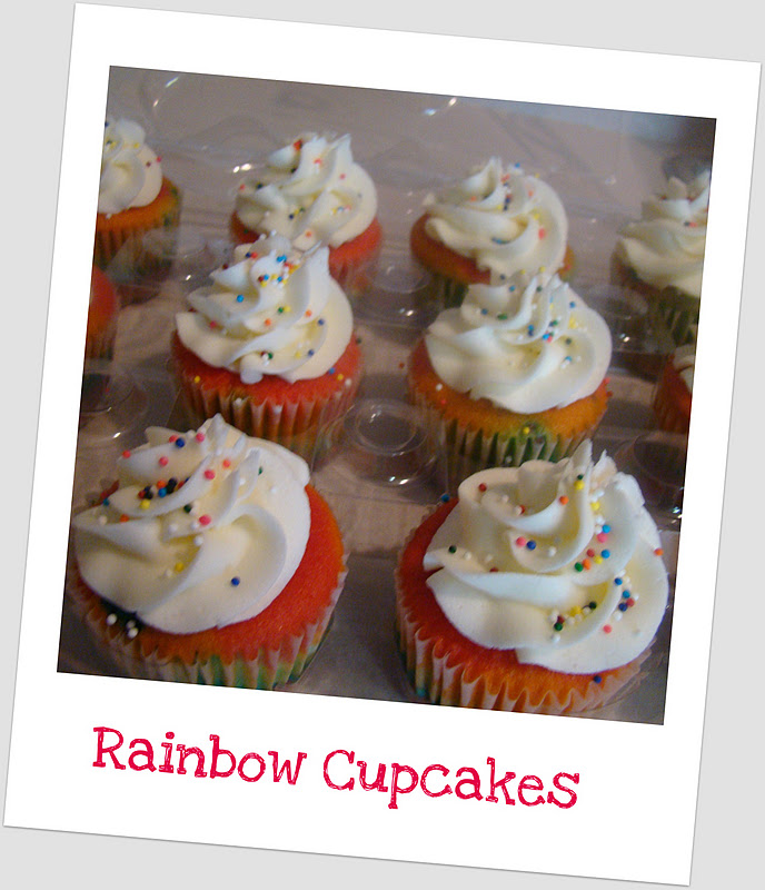 ... wanted a Rainbow Brite theme. Here are her cupcakes and toppers