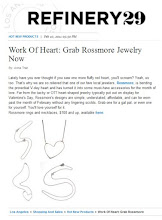 Refinery29 Feature Work Of Heart
