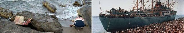 las mentiras y falsas fotos sobre refugiados sirios
